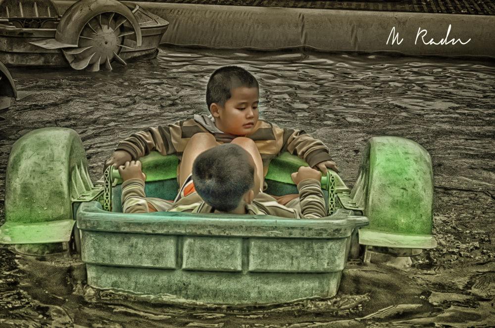children by Ramdhan Ahaz