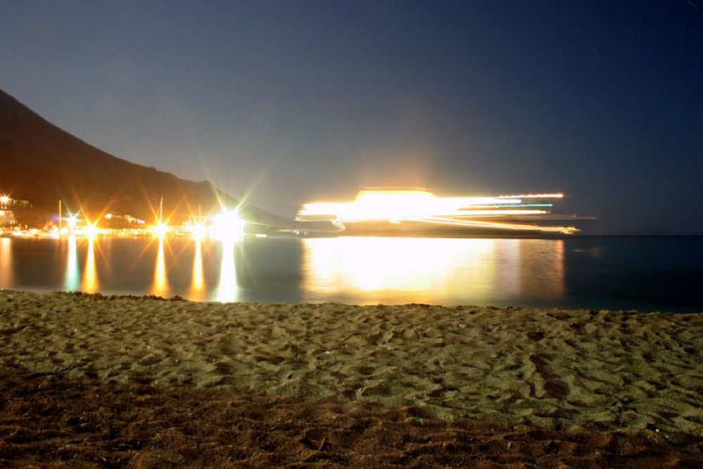Amorgos 05 , Aegiali's Port by ToniaSpy