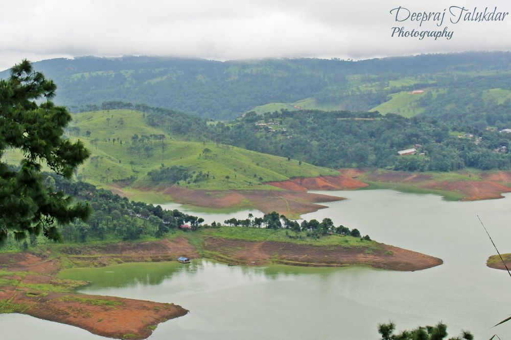 barapani lake by Deepraj Talukdar