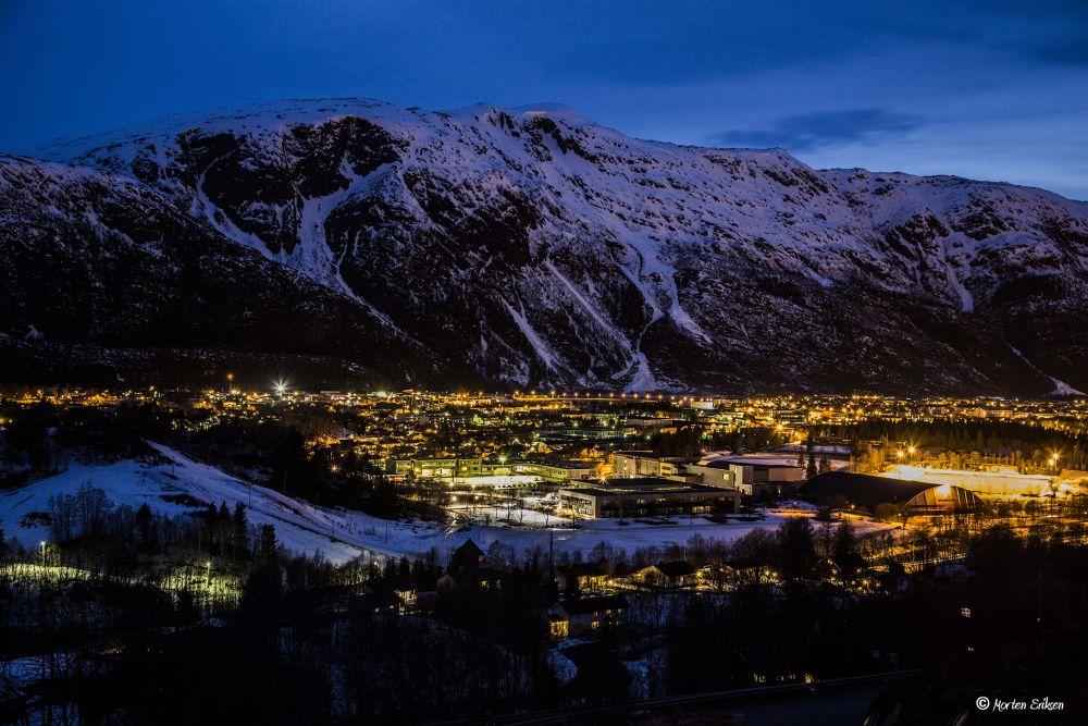 Mosjøen City by Morten Eriksen
