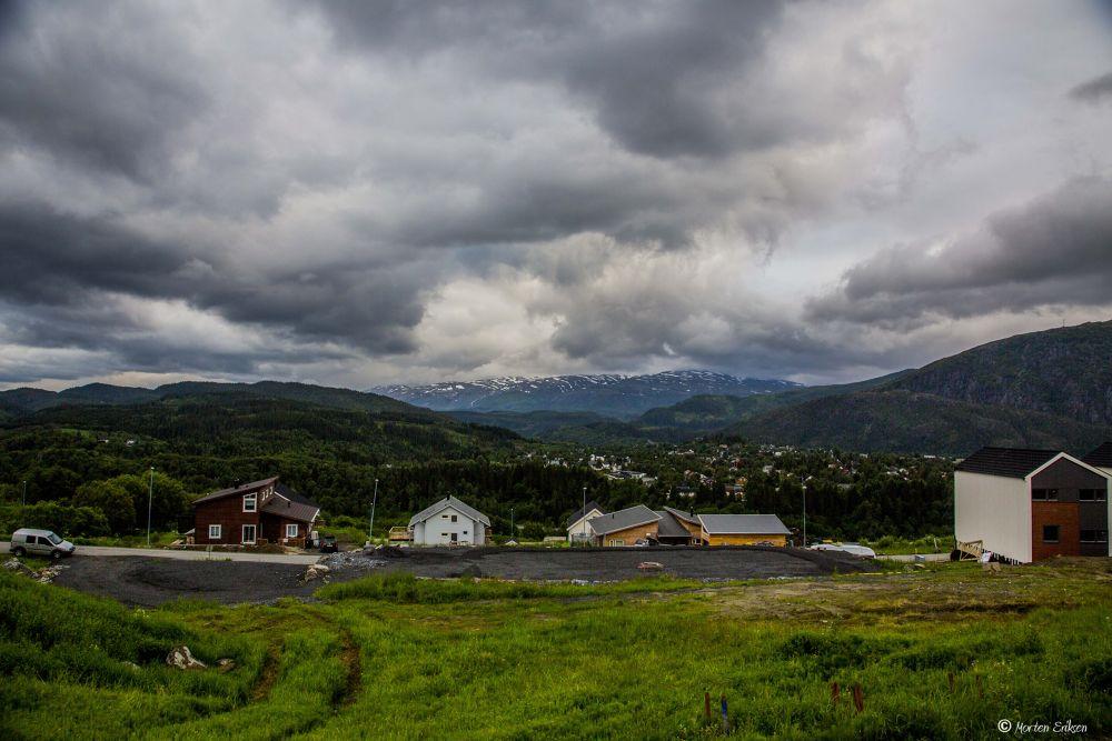 The Hills at Andås by Morten Eriksen