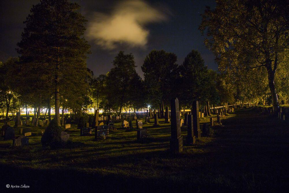 Cemetery by Morten Eriksen