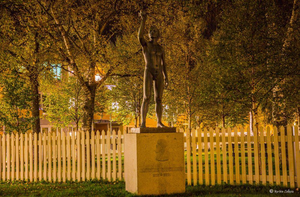 Statue in the Park by Morten Eriksen