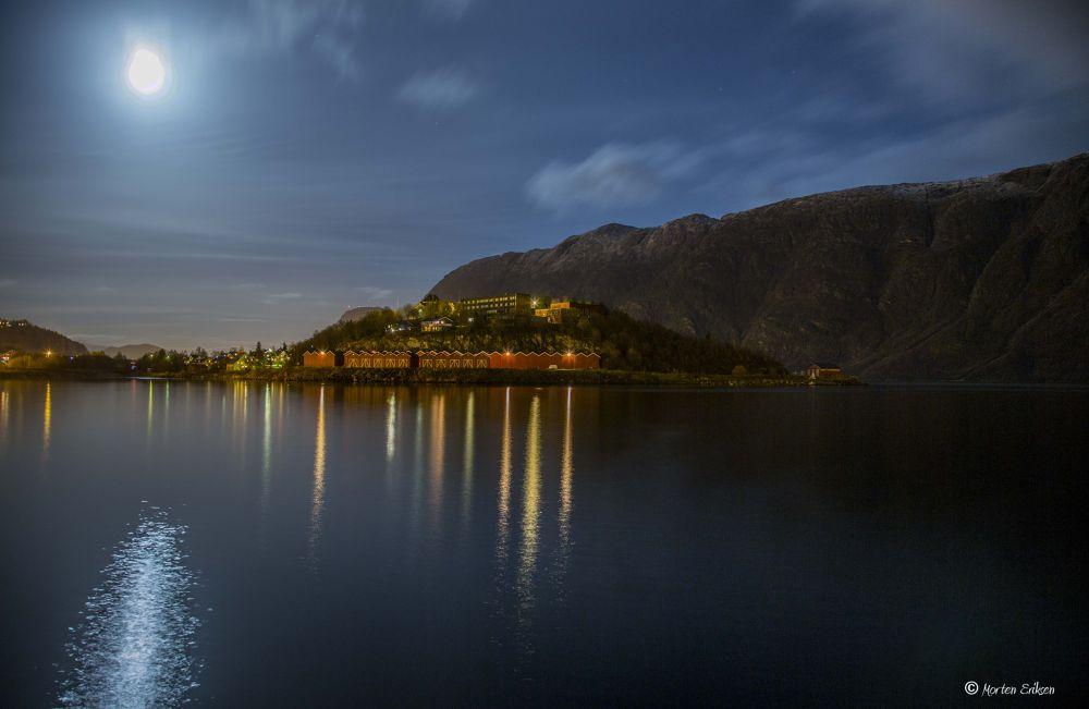 The Kulstad Lake, Mosjøen by Morten Eriksen