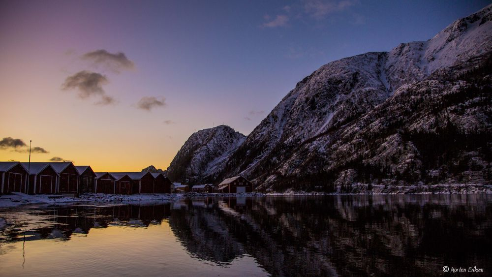 Silence by the River by Morten Eriksen