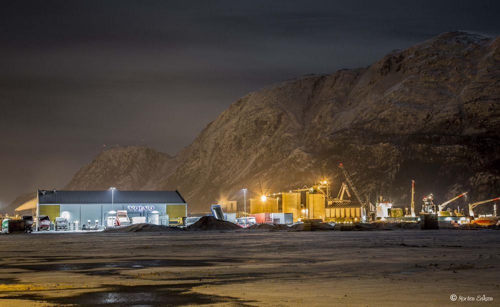 Mosjøen. by Morten Eriksen