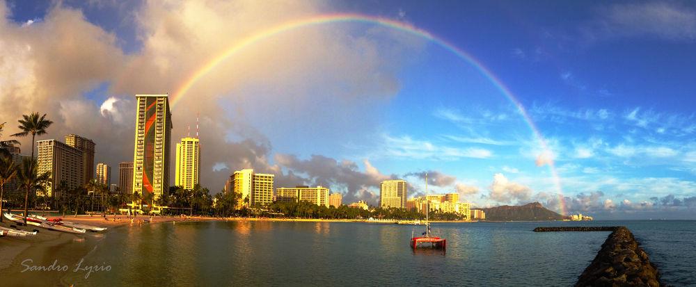 Hawaii n Rainbows by SandroLyrio