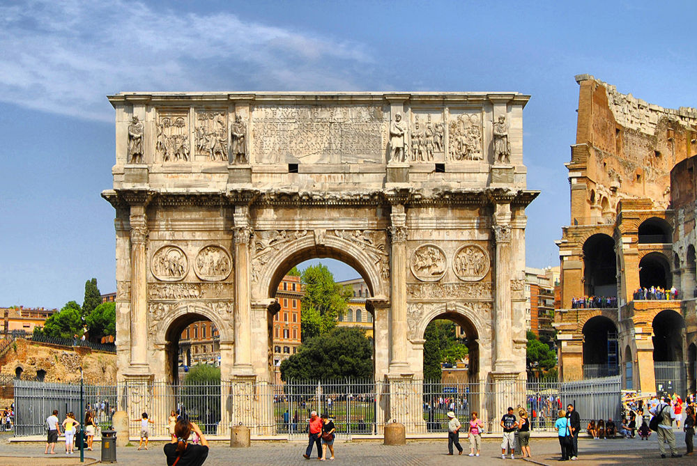 Arco di Costantino. Roma by DavidRoldan