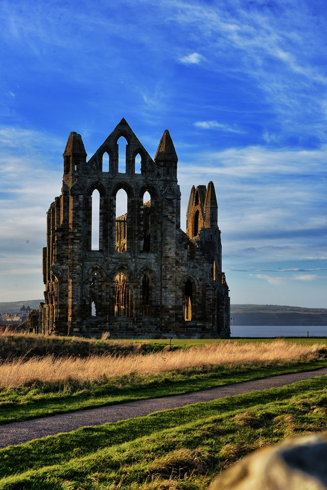 Whitby Abbey by Dale Hobson