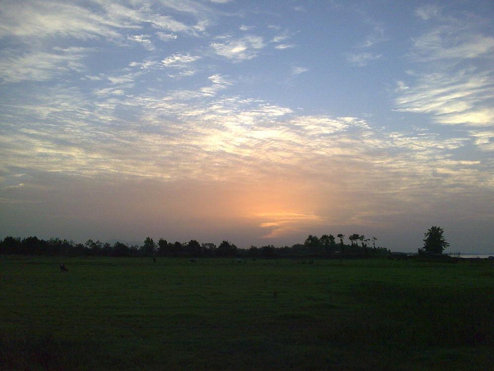 Guilan's sunset by Navid khorrami