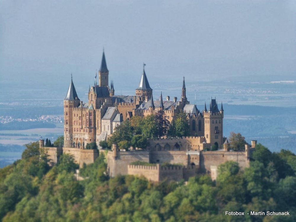 Hohenzollern Castle by Martin Schunack