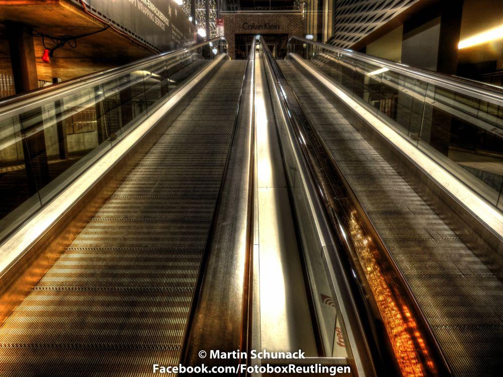 The Escalator by Martin Schunack