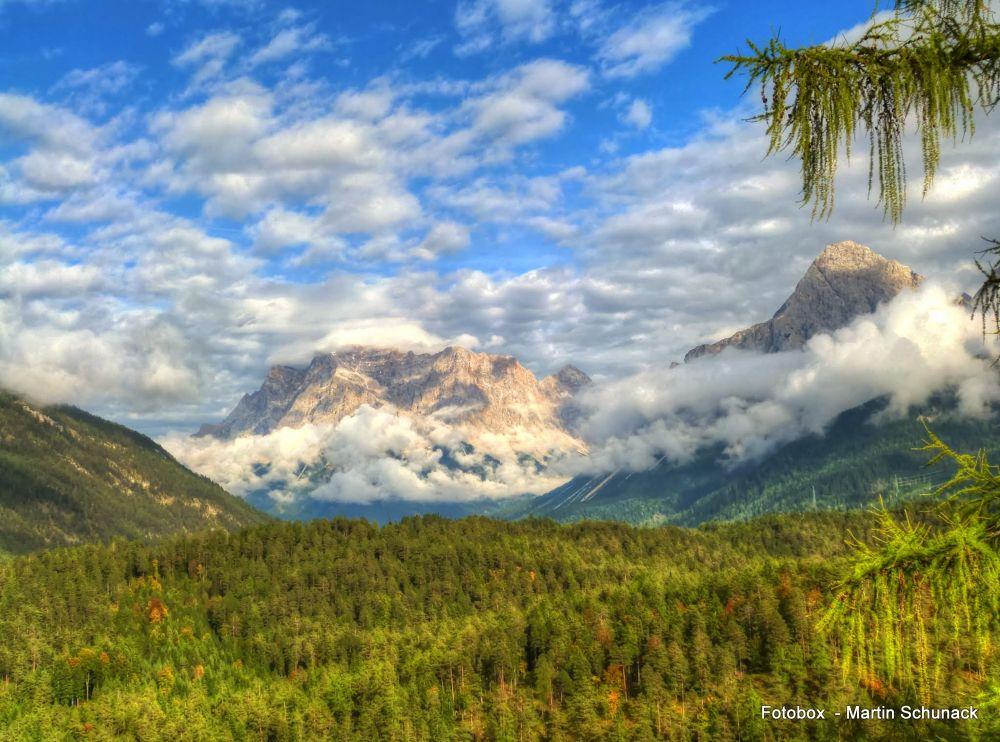 Zugspitze by Martin Schunack