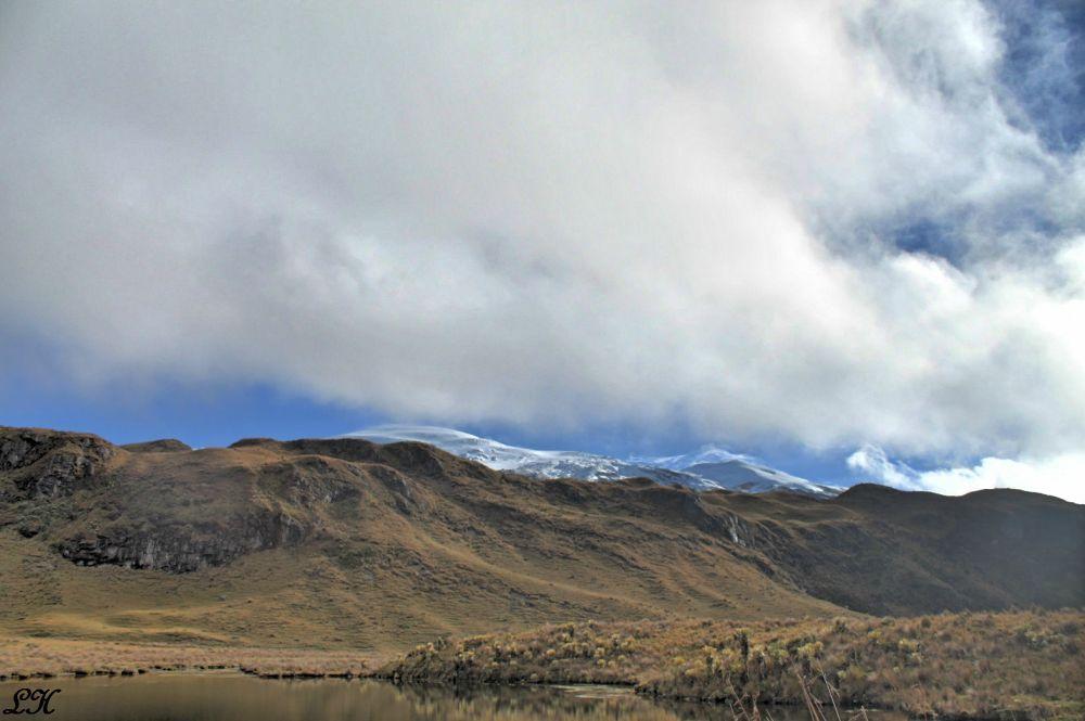 Volcán Nevado del Ruíz (kumanday) by LeoAndino