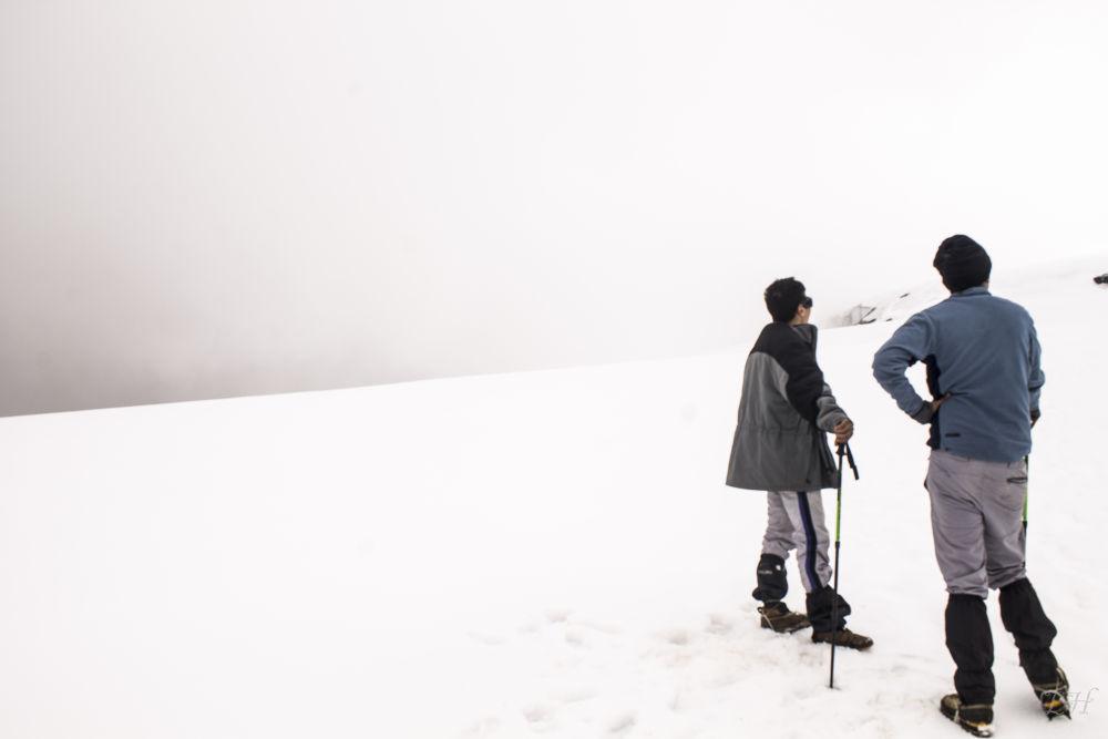 Photo in Travel #cumbre #ruíz #nevado #colombia #andes centrales #volcán