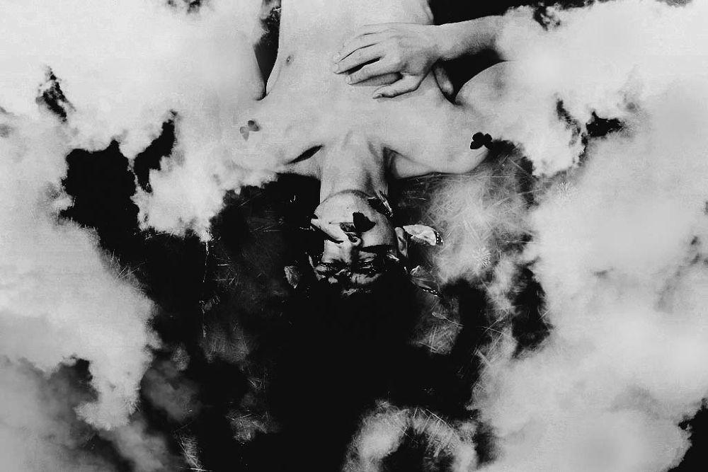 Lost in clouds  by Loran F.Zamel