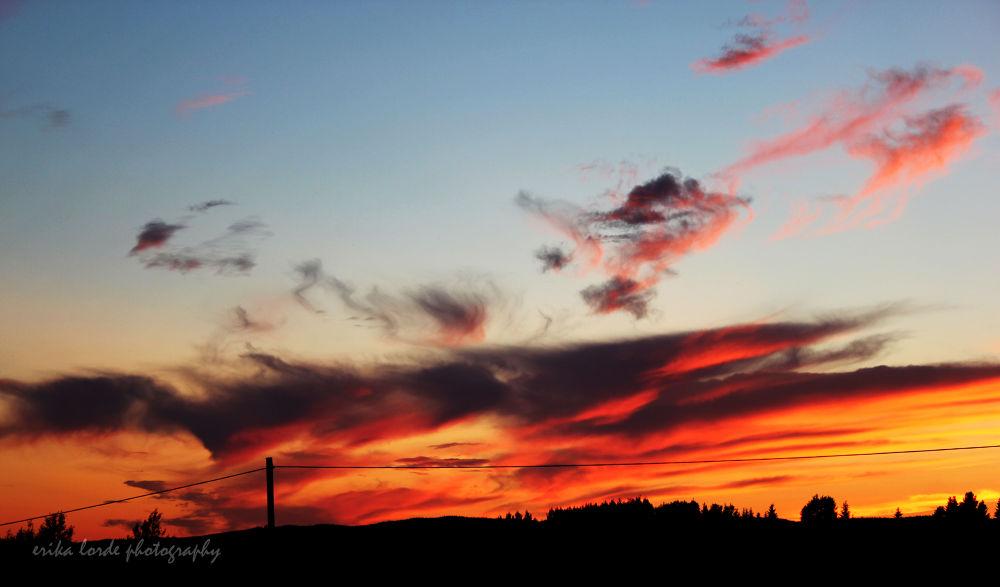 Photo in Landscape #photography #sunset #nature #landscape #sweden
