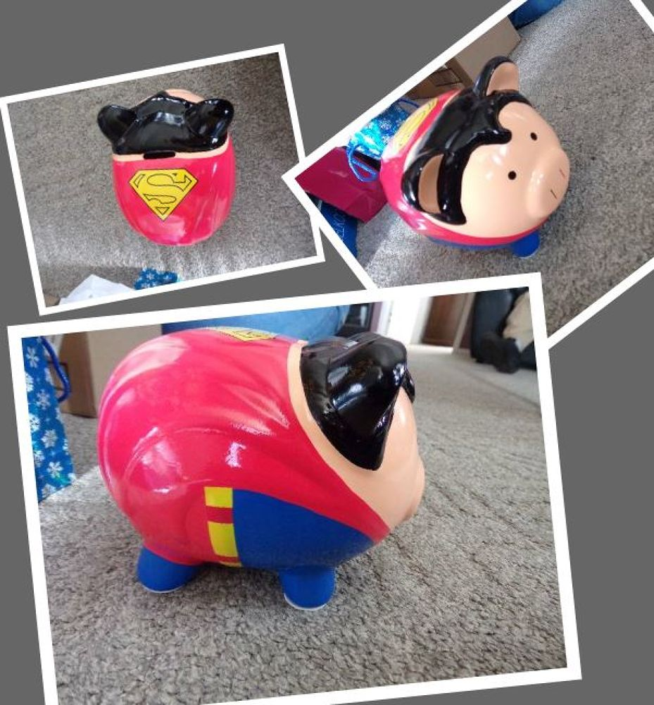 Is it a bird? Is it a plane? No! It's Superpig! by reillylovesyou