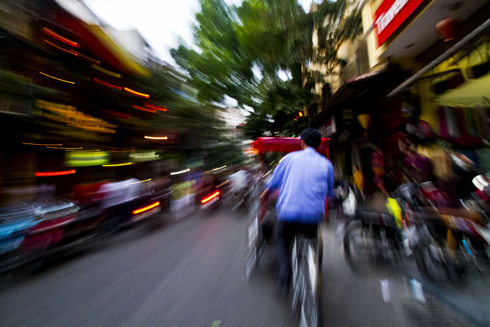 Streets of Hanoi by simoncklee