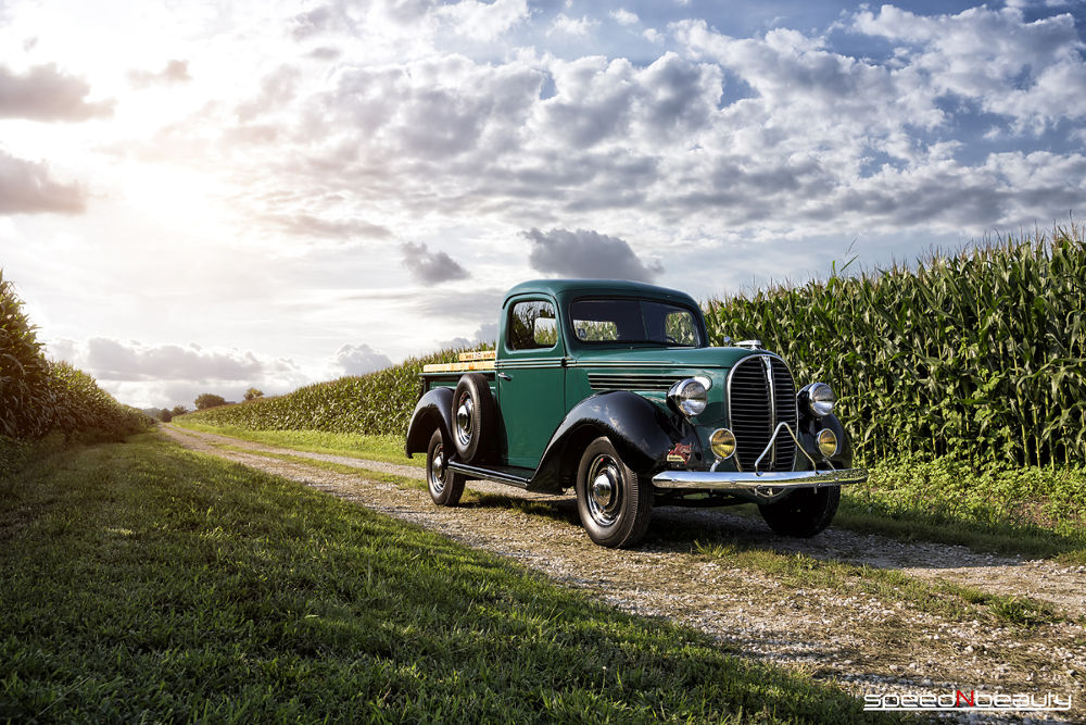 1938 Ford Pickup by speedNbeauty