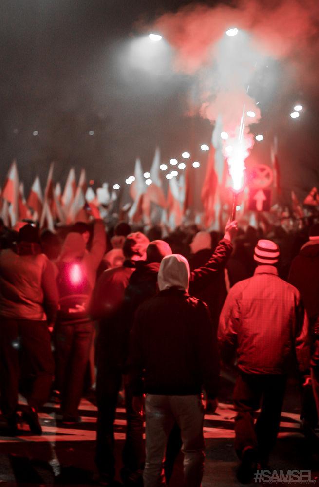 Marsz Niepodległości - Warsaw - Poland - 2013 by Radosław Samsel