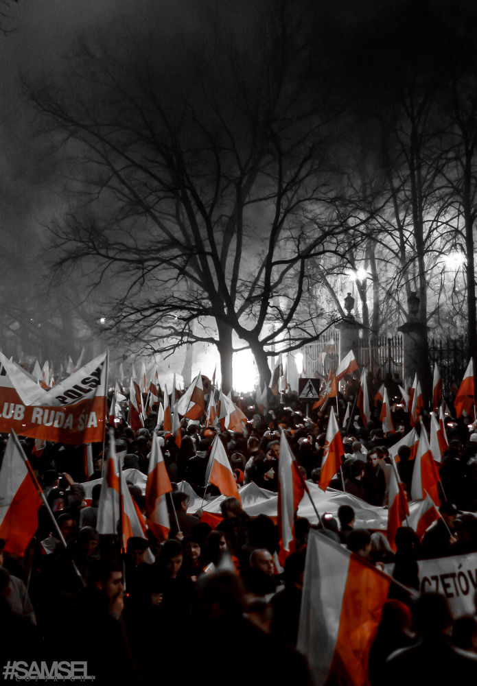 March of the independence by Radosław Samsel