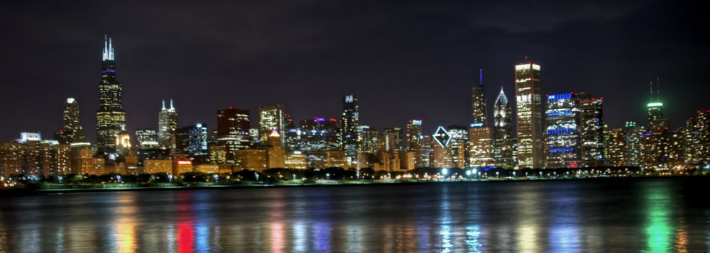 Chicago sky line! by kinghen