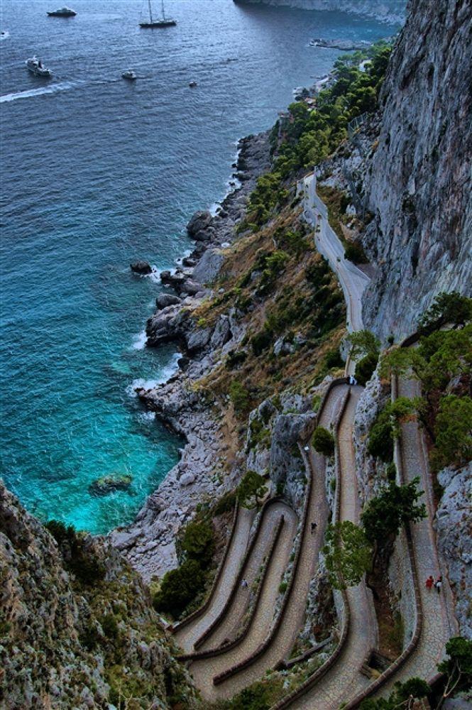 Photo in Random #- #capri #via #krupp