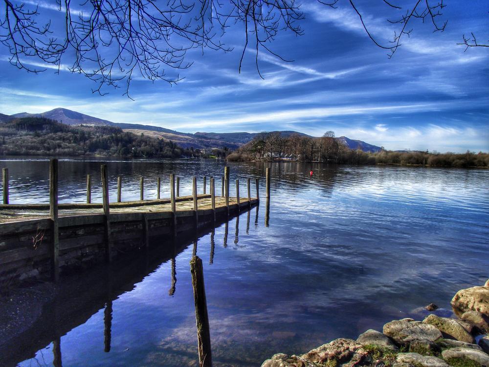 Photo in Landscape #lake district #cumbria #landscape #water #tranquil