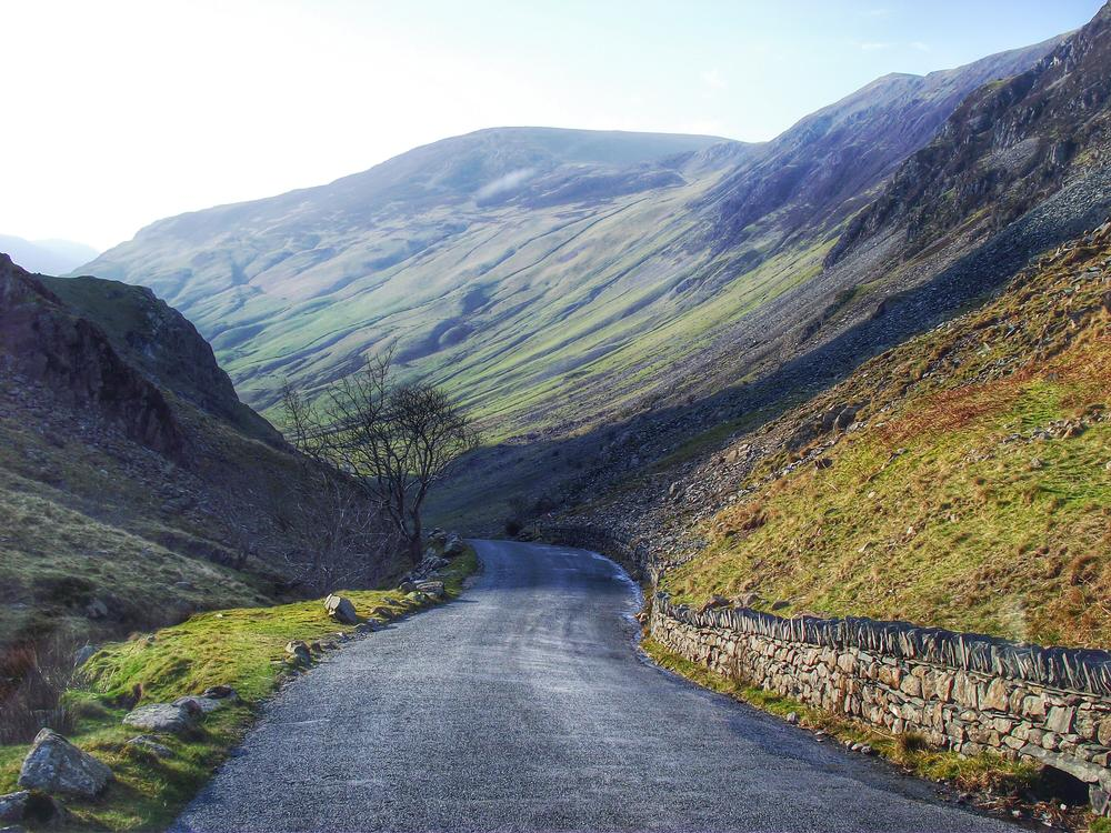 Honister Pass, Cumbria  by pendlesue
