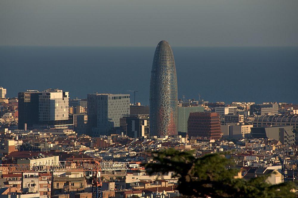 torre aghbar Barcelona Spain by soosmoos