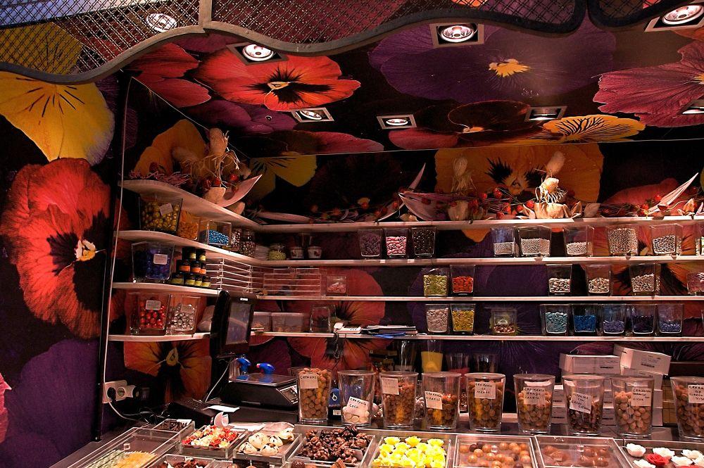 In Barcelona ,La Boqueria, market  by soosmoos