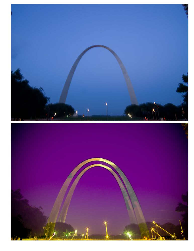 the St. Louis, Arch by lucky
