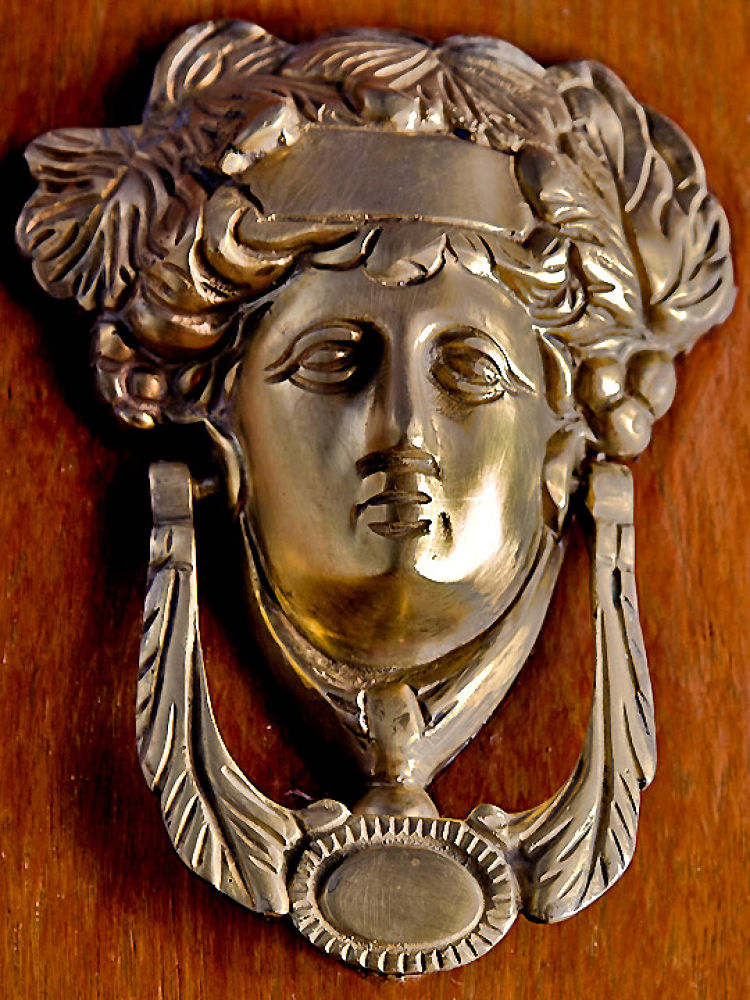 Photo in Random #door #wood #metal #handle #brass