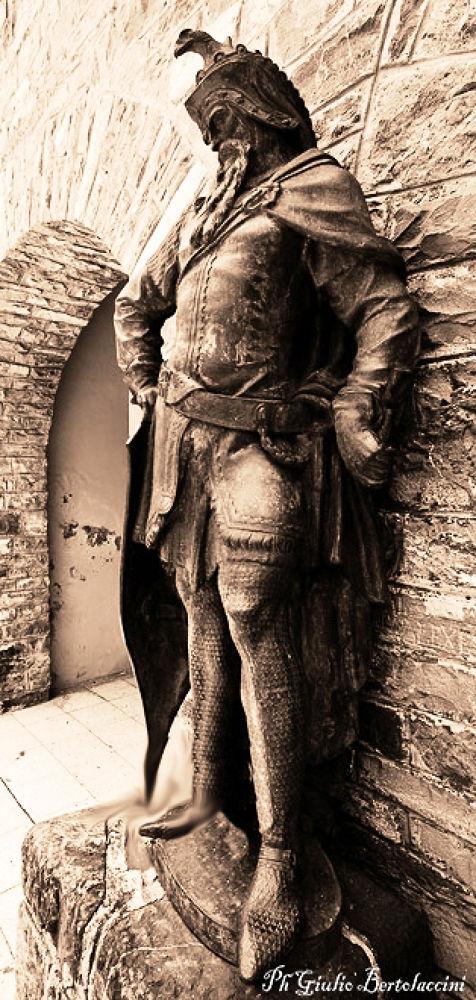 the Warrior by giulio bertolaccini