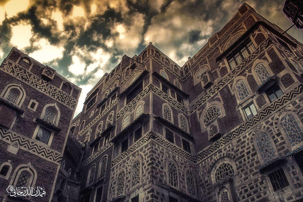 مباني قديمة في صنعاء القديمة ^_^ بعدسة : همدان الذرحاني by hamdanaltharhany