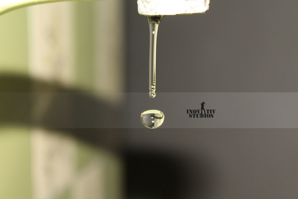 Water Droplet by Usama Moin