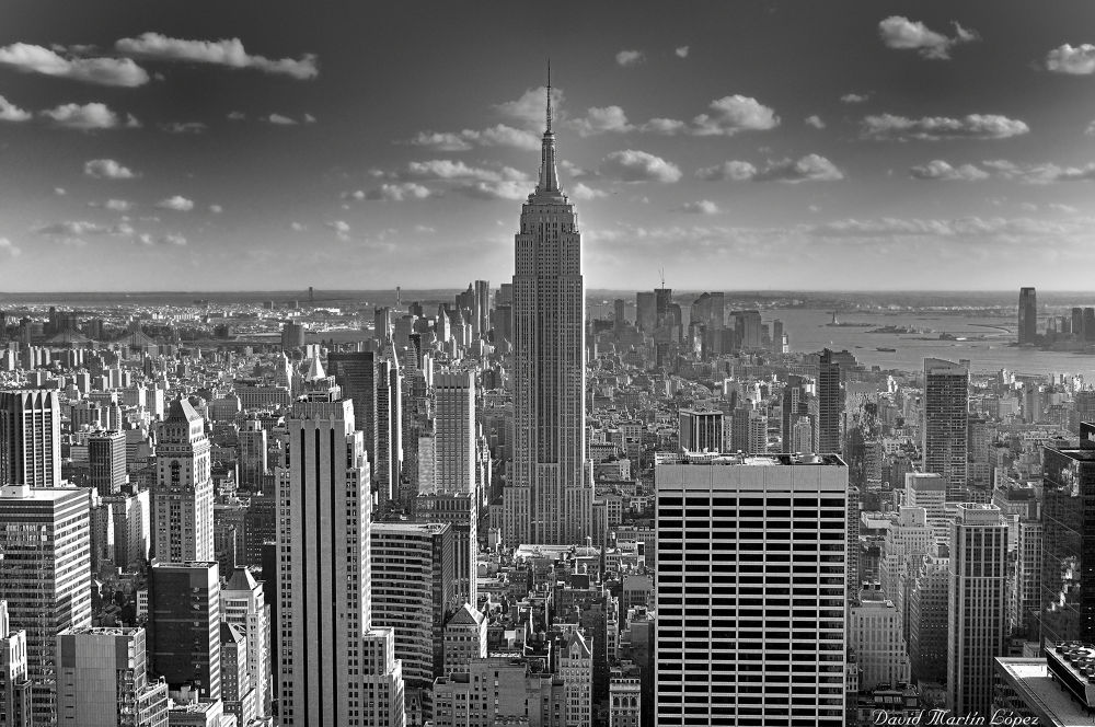 The Empire State Building by davidmartinlopez