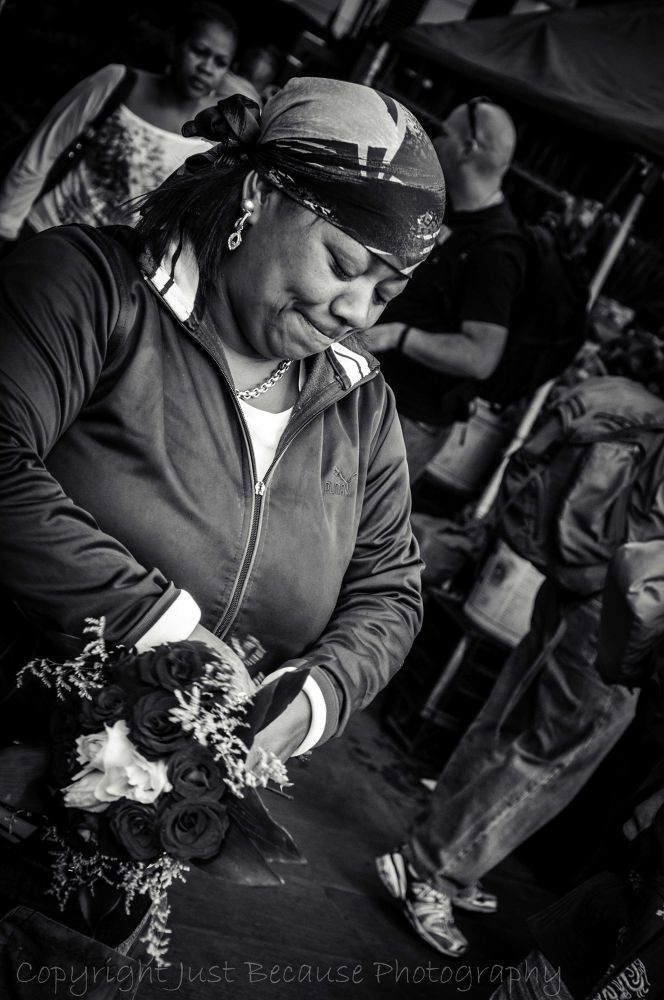 Flower seller by JustBecause