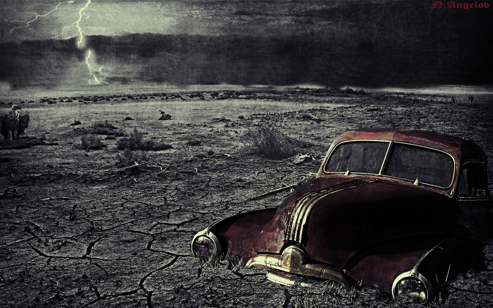 The Storm by nikolayangelovamadeus