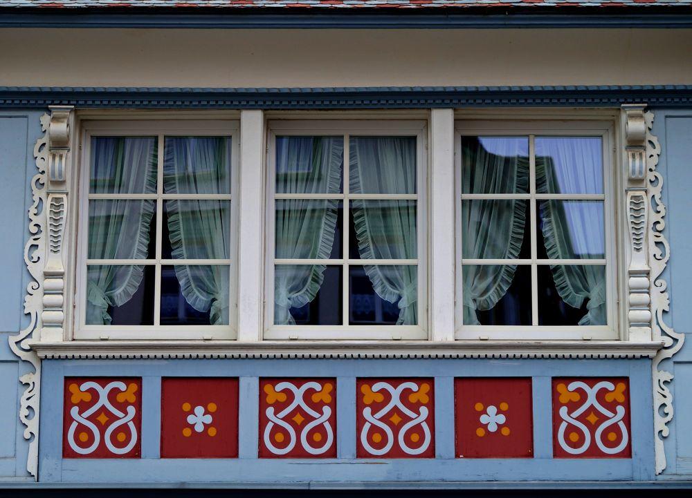 Appenzell window. Switzerland.DSC08276 by vladymyr novgorodov