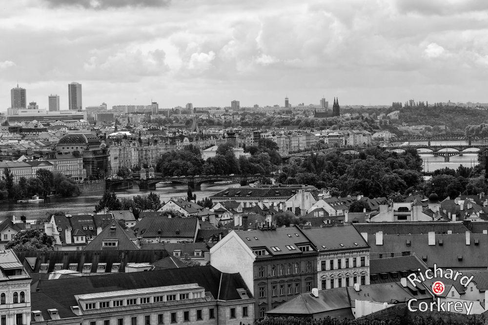 Prague (B&W).jpg by Richard Corkrey