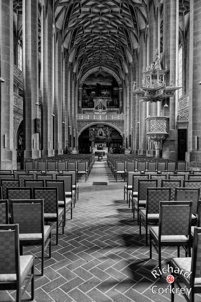 Marktkirche Unser Lieben Frauen, Halle, Germany by Richard Corkrey