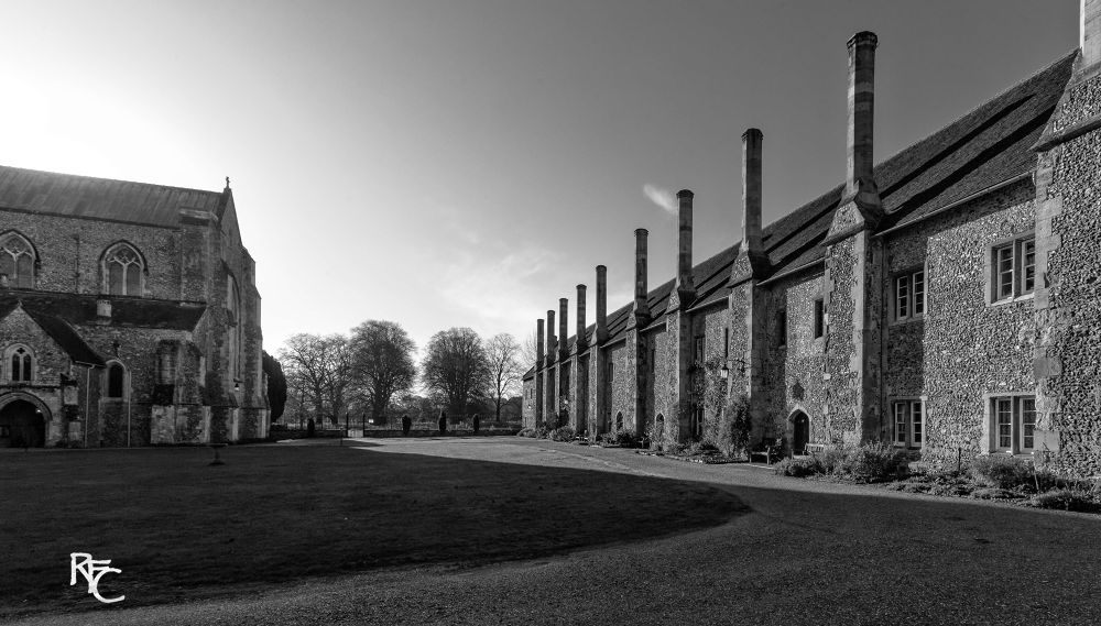 Hospital of St Cross and Almshouse of Noble Poverty, Winchester by Richard Corkrey