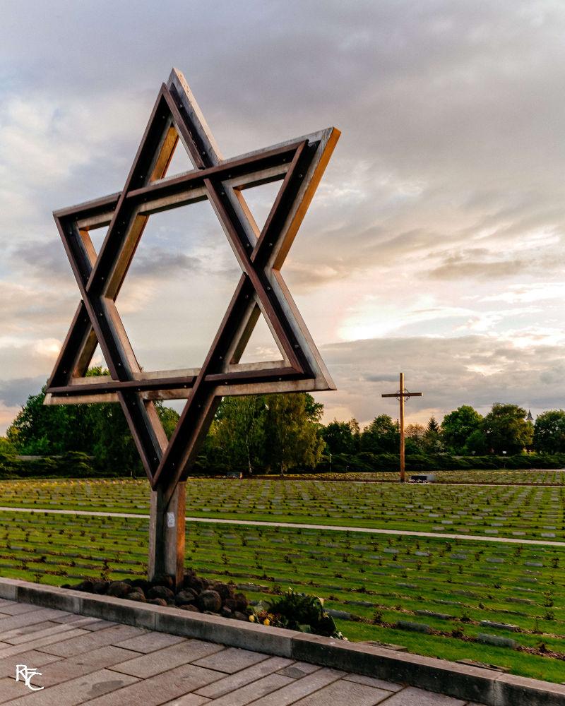 Memorials at Terezín (Theresienstadt) by Richard Corkrey
