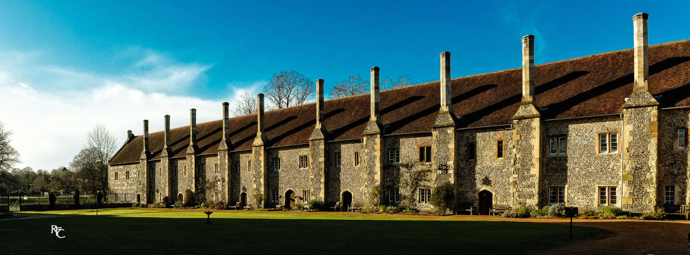 Almshouse of Noble Poverty, Winchester by Richard Corkrey