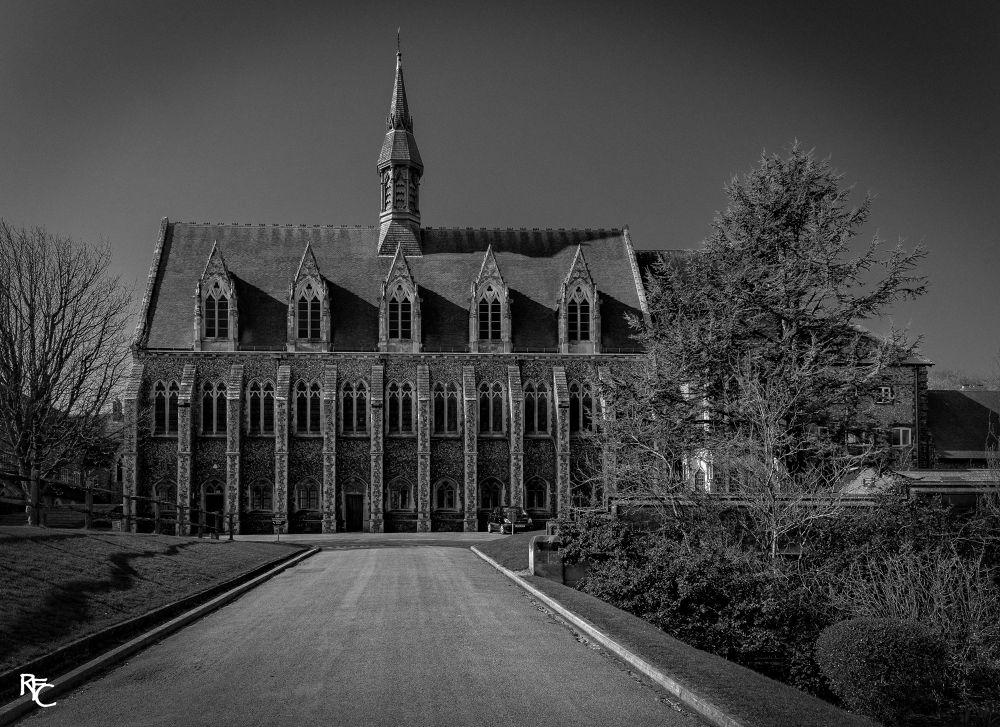 Lancing College by Richard Corkrey