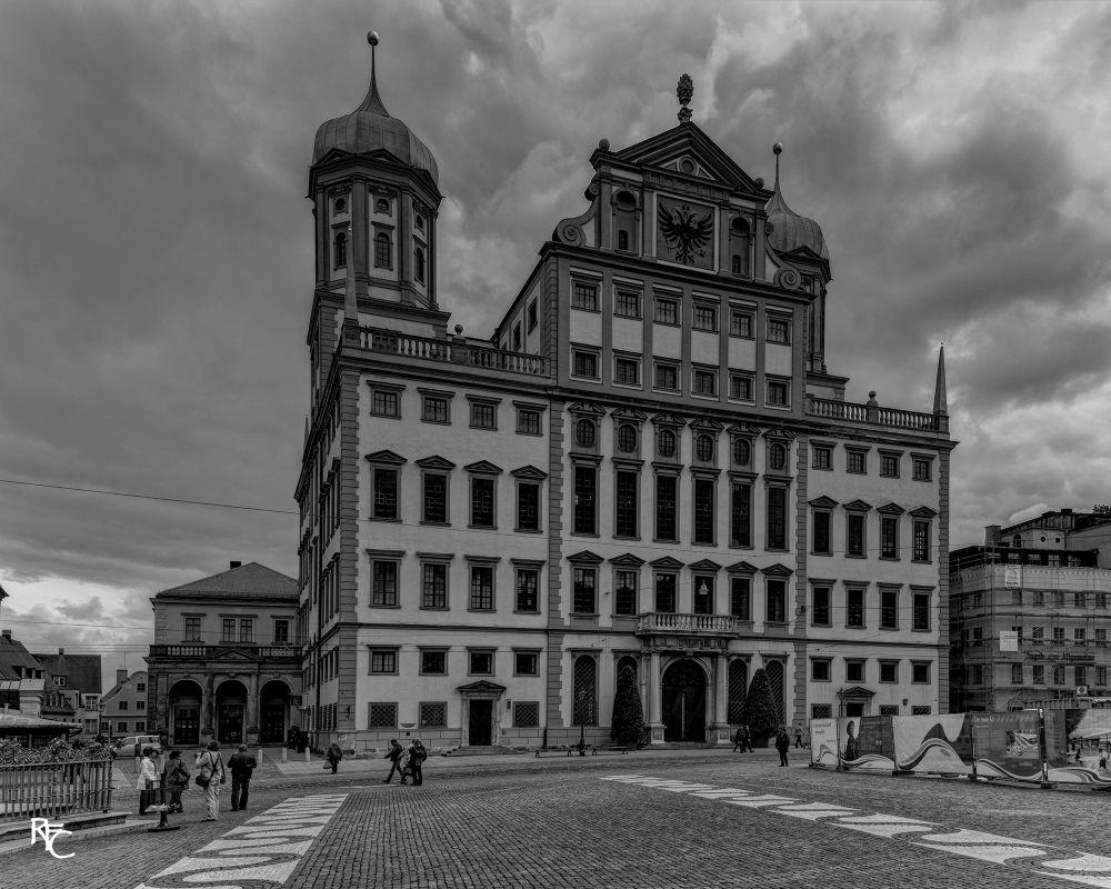 Rathaus, Augsburg by Richard Corkrey