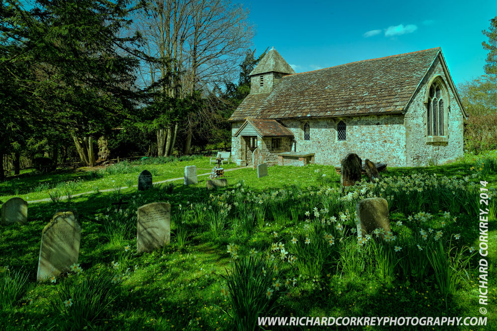 Wiggonholt Church by Richard Corkrey