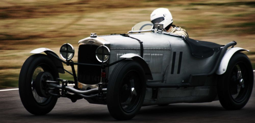 Vintage Racer by Adrian Farris